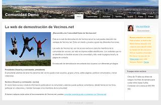 Comunidad Demo en Vecinos.net