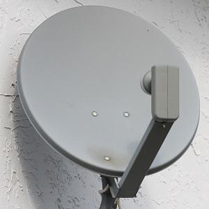 Antena parabólica particular