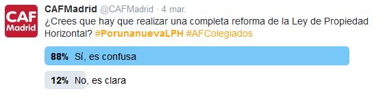 Encuesta CAF reforma LPH